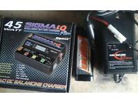Rc car battery charger/ pack
