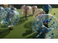 10 X ZORB FOOTBALL (BUBBLE BALL)