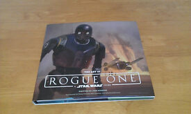 The Art of Rogue One. Star Wars Hardback Book.