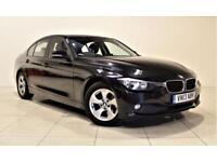 BMW 3 SERIES 2.0 320D EFFICIENTDYNAMICS 4d 161 BHP + 1 OWNER + (black) 2013
