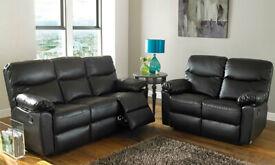 Wathen 2 Piece Reclining Sofa Set (3+2)