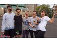 Mixed netball league running in Camden