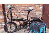 Electric Folding Bike As New