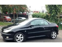 PEUGEOT 206 CC 1.6 ALLURE 2004 FULL SERVICE HISTORY ONLY 86k CREAM LEATHER