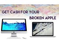 Looking for broken apple macbook