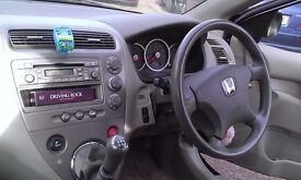 Black Honda Civic 1.6 Executive Vtec 5 Door