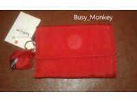 ~ Brand New ~ Kipling Pixi Wallet ~ Cherry ~ £30 ~