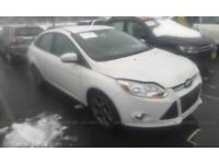 Ford Focus. Drivers side. Wing. White. Breaking spares parts