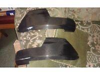 Carbon fibre frame protectors