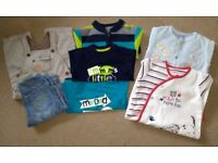 Baby Boys Clothes Bundle Age 6 - 9 mths