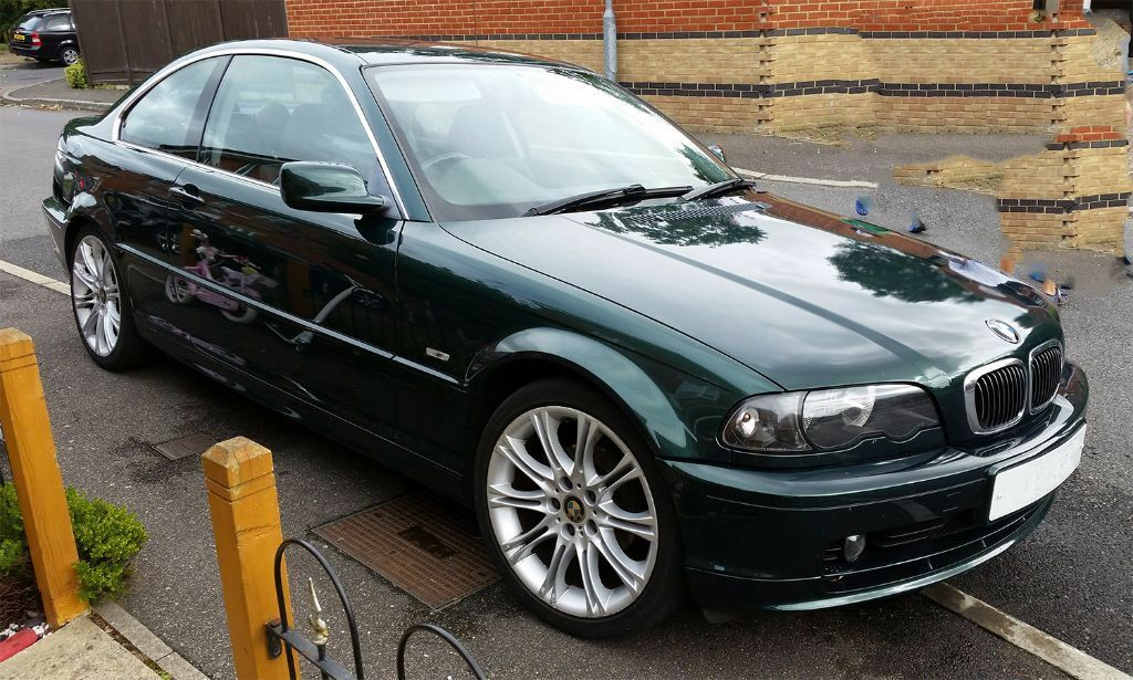 green e46 bmw 323ci coupe 2000 111k fsh manual. Black Bedroom Furniture Sets. Home Design Ideas