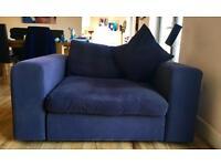 Love Seat - indigo blue