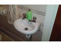 SMALL CLOAK ROOM WASH HAND BASIN