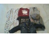Budle of clothes for 18-24kont boy