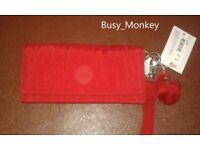 ~ Brand New ~ Kipling Rubi Wallet/Clutch ~ Cherry ~ £30 ~
