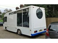 Motorhome- finnished out side -Run out of money to finish inside