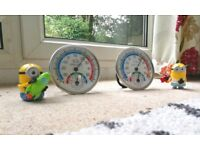 Temperature Humidity Meter Indoor/Outdoor Hygrometer Thermometer sale for £5 each (both £9)