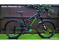 Kona Process 153 DL 2016 Full suspension Mountain Bike RRP2999