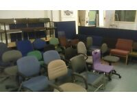 Used Office Chairs from only £10 Each!