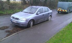 Silver Vauxhall Astra for Sale