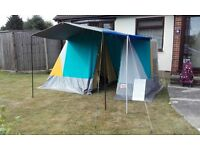 Sale off Camping equipment,Marechal Frame Tent, beds, Lilo's, Ex lead, Shelves & Dinning Canopy
