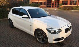61 BMW 1 Series 118d 5dr Sport Step Auto White (£30 Tax)