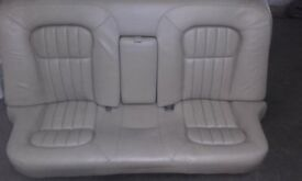 JAGUAR LEATHER SEATS VARIOUS SECTIONS LOVELY LEATHER