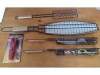 Selection of Unused BBQ equipment