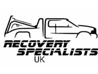 Car recovery breakdown collection or delivery