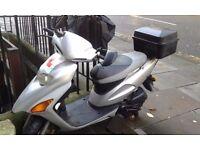 Honda SFX 50 scooter, careful owner city runaround & helmet padded jacket chain cover mot til 01.17