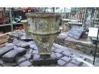 Decorative cast iron hopper