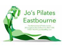 Jo's Eastbourne Pilates Arndale Centre Pilates Promotion