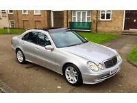 MERCEDES E320 CDI AVANTGARDE PANORAMIC ROOF EXCELLEND CONDITION