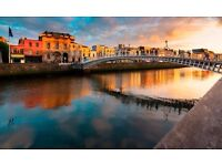2 return flight tickets London- Dublin, 24.Feb-26.Feb