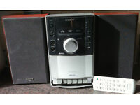 Sony CMT-EH10 MICRO Stereo HI FI CD/MP3/FM/Cassette/AUX input for iPod or phone