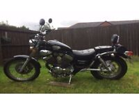 Cruiser Chopper Motorcycle 2010 NEW 12 MONTHS MOT