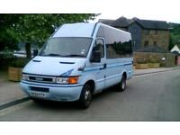 2002 Blue Iveco Daily Camper / Day van / Motorhome 12 months mot px welcome