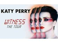 Katy Perry standing tickets x2 Newcastle