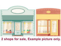 2 Tenanted shops for sale with established businesses.