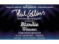 Phil Collins tickets x 2 - BST festival