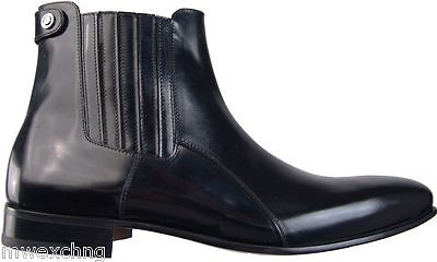 $770.00 CESARE PACIOTTI FASHION ANKLE BOOTS US 8 ITALIAN DESIGNER MENS SHOES