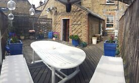 Double in Clapham 2 Bed with Huge Roof Terrace