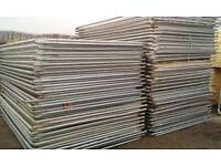 Used Heras Temporary Security Fencing Sets X 40 ~ Panels/Clips/Feet