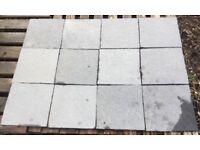12x Grey Slate type tiles 29cm x 29cm