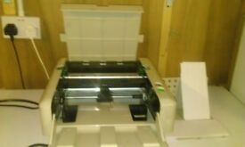 Martin Yale P7200 paper folding machine together with instructions