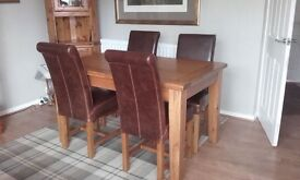 dinning table & chairs Barker & Stonehouse Kimberley