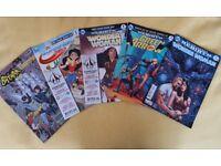 Selection of DC Comics (Modern Age, Rebirth) Wonder Woman, Suicide Squad, Titan Magazines, Comic Lot