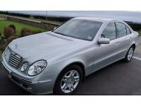 Mercedes Benz 2.7 E Class Elegance Auto Diesel in bright silver