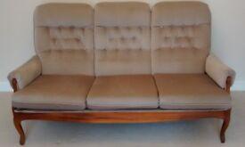 Sutcliffe mahogany lounge furniture