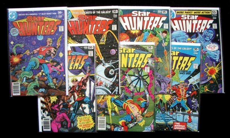 STAR HUNTERS #1-7 Lot of (7) Bronze Age DC Comic Books